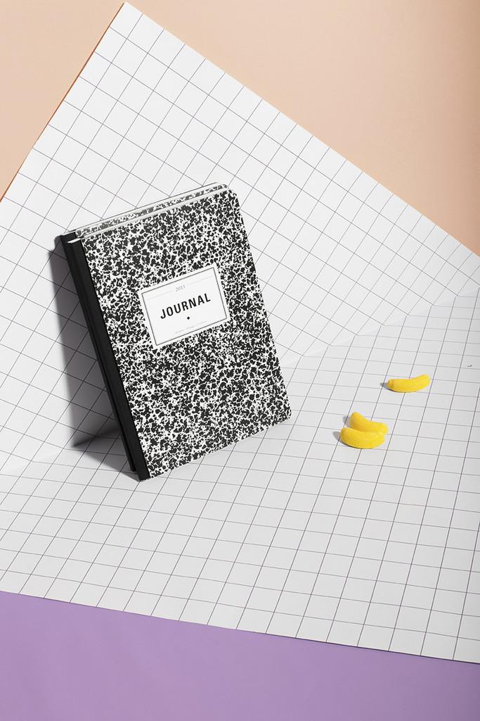 Calendar Notebook 2015 : German sondermeldung trendy pattern journal calendar