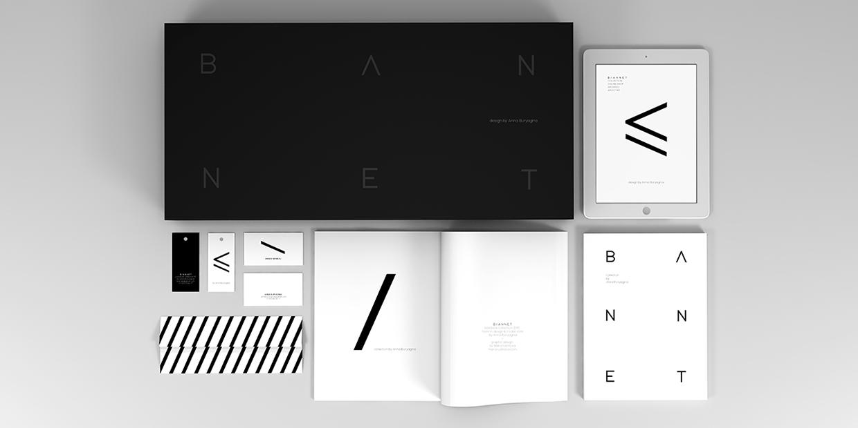 more black white minimal corporate design beauty waaterkant