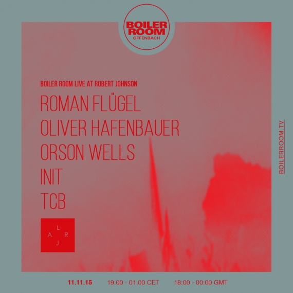 Live At Robert Johnson - Boiler Room 2016