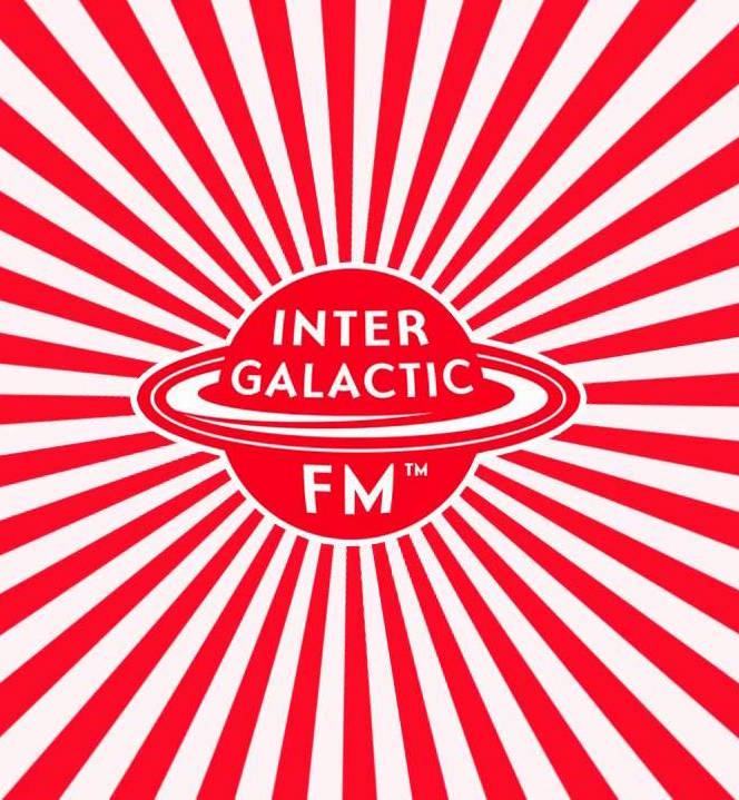 Intergalactic.FM - Logo